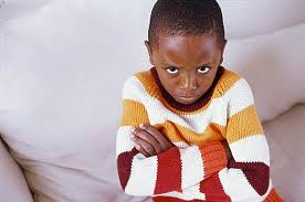 angry little black kid - photo #1