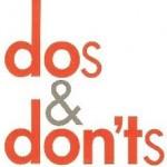 dosanddonts